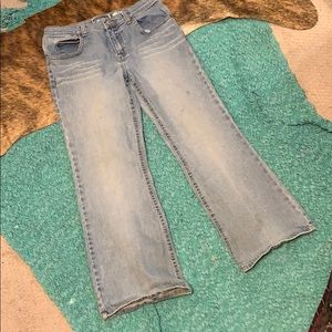 Girls old navy 10.5 flare jeans